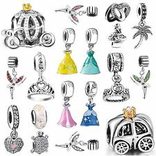 European Silver Charms Bead Fit Genuine Fashion 925 sterling Bracelets Necklace