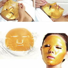5 X Crystal Gold Collagen Facial Face Mask Anti-Aging Moisturizing Skin Care IC