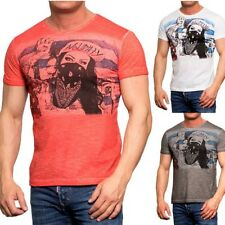 6841 Young & Rich men's T-shirt Basic shirt Body Slim Fit New