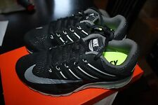NIKE MEN'S AIR MAX EXCELLERATE 4 RUNNING SHOES SNEAKERS BLACK GREY 806770 010