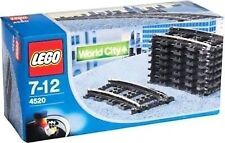 Lego 4520  New & unopened thats 8 curved tracks..Hard to find..