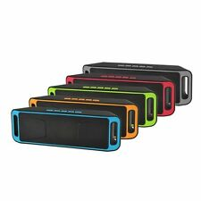 Portable Mini Wireless Speakers Outdoor Bluetooth Car Speaker Subwoofer Stereo