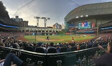 3 Tickets Astros Vs Orioles Row 2 DUGOUT BOX DIRECTLY BEHIND HOME PLATE! 5/28/17