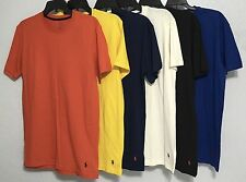 Polo RALPH LAUREN New Mens Crew Neck T-Shirt 100% CottonSz M L XL PL86