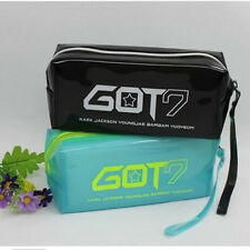 Multifunction GOT7 Clear Cosmetics Make Up Bag School Students Pencil Case Xmax