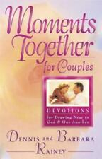 Moments Together for Couples: Dennis & Barbara Rainey Hardback Devotional