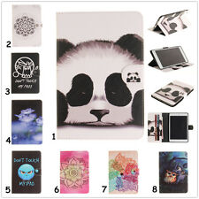 For iPad Samsung Tab A/E/S2 Wallet Leather Magnetic Flip Smart Case Cover Stand