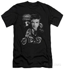Elvis Presley - The King Rides Again (slim fit) Apparel T-Shirt - Black