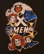 S XL Marvel Comics Men's Shirt: Classic X-MEN: Cyclops Beast Storm Wolverine