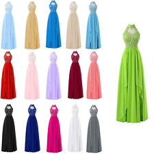 Long Wedding Bridesmaid Dress Evening Party Ball Prom Gown Cocktail Size 6-20++