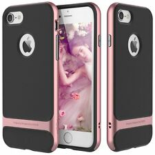 For Apple iPhone 7 / 7 Plus Slim Shockproof Hybrid Hard Bumper Soft Rubber Case