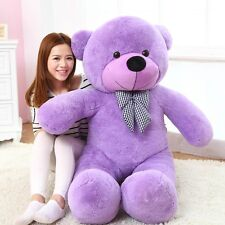 100cm Giant Teddy Bear Plush Toy Doll White Pink Blue Purple Brown Color Doll