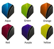 Victory Darts XS100 Curve Dart Flights - Extra Strong - New Design - 6 Colours