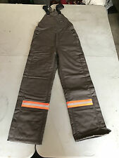 LAPCO FR (Flame Resistant) Bibs Overalls - NEW - Reflective Piping - Super Warm