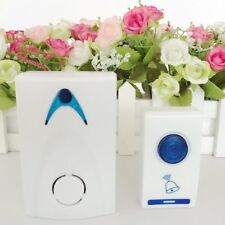 LED Wireless Chime Door Bell Doorbell & Wireles Remote control 32 Tune Songs HW