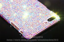 Luxury Diamond Case Fashion Bling Crystal PC Hard Cover Skin For iPhone SAMSUNG