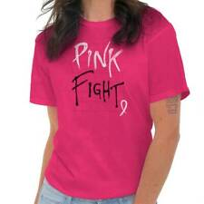 Breast Cancer Awareness Pink Fight Breast Cancer Ribbon Gift T-Shirt Tee