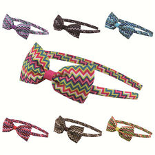 Girls Cute Bowknot Alice Band Headband Bow Hairband Party Hair Accessories