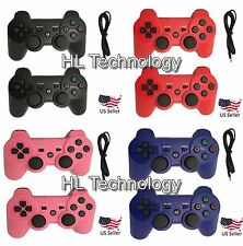 4 Colors Wireless Bluetooth Game Controllers For Sony PS3 Playstation 3 by HL
