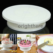 11 Rotating Revolving Cake Plate Decorating Turntable Kitchen Display Stand HL