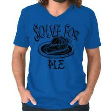 Solve For Pie I 8 Sum Pi Eight Sum Pie Funny Math Geek Humor V-Neck T-Shirt
