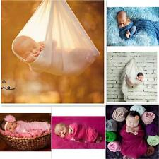 Top 40*150cm Newborn Photography Props Blanket Rayon Stretch Knit Wraps lot HE