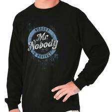Nobody Is Perfect Funny T Shirt Humorous Novelty Fashion Gift Long Sleeve Tee