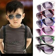 Child Cool Children Boys Girls Kids Plastic Frame Sunglasses Goggles Eyewear AX