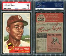 1953 TOPPS #220 SATCHELL PAIGE PSA 5 (8374)