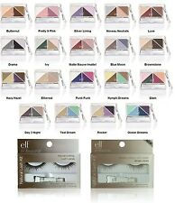e.l.f. Brightening Eye Shadow U Pick Color with your choice of Eyelashes NEW