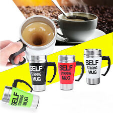 NEW Auto Self Stirring Mug Tea Coffee Cup Novelty Ideal Work Office Gift 350ML