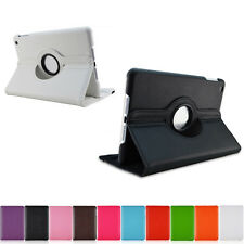 360° Rotating Magnetic PU Leather Case Smart Cover Stand For iPad 2/3/4/5 Air .