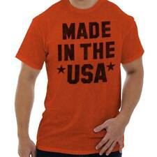 Made In The USA Fashion Patriotic Political Funny Saying Gift T-Shirt Tee