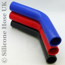 Silicone Hose 45 Degree Elbow Turbo Intercooler Heater Hose Coolant Water Pipes