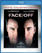 NEW NICOLAS CAGE JOHN TRAVOLTA FACE / OFF COLLECTORS ED. BLU RAY FREE 1STCLS S&H