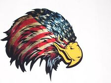 Angry American Flag Eagle Head motorhome Wall Window Decal decals Mural Graphics