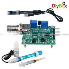 Liquid PH0-14 Value Detect Sensor Module + PH Electrode Probe BNC for Arduino