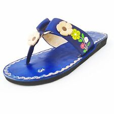 Women's Handmade Mexican Leather Sandal Huaraches size 5 to 10 U.S. SF03bl