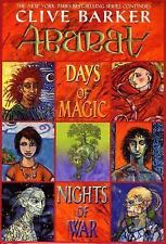 Abarat: Days of Magic, Nights of War Book 2 by Clive Barker (2004, Hardcover)