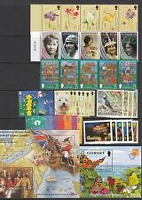 Guernsey Stamp sets & Miniature Sheets 1995-2001 Multi listing your choice