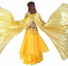 Professional Belly Dance Costume Isis Split Wings Shawl India Dance accessories