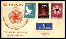 1962 Ghana world Accra assembly cachet first day cover