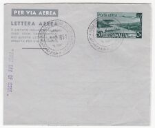 Somalia 1951 50 Postal Stationery Aerogramme FDC first Day of Issue