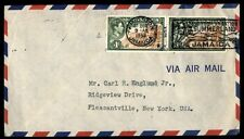 Jamaica Kingston 1953 Summerland Vacation Pictorial Cancel on Cover to Us