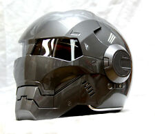 Brand New Masei Atomic-Man 610 Gray Motorcycle Helmets All Sizes available