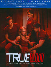 True Blood: The Complete Fourth Season (Blu-ray Disc, 2012, 5-Disc Set)