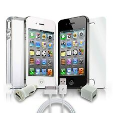 Iphone 4 Sprint 8GB Smartphone Black or White-Clean ESN