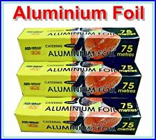 Kitchen Catering Aluminium Foil Tin Food Packing Strong Box 300 & 450 x 75 Meter