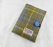 Harris Tweed A5 Re-usable Notebook Cover (includes lined notebook)