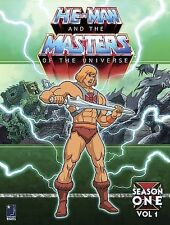 He-Man and the Masters of the Universe - Season 1: Volume 1 (DVD 6-Disc Set) NEW